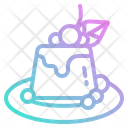 Pudding Meal Breakfast Icon