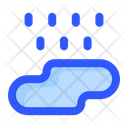 Puddle Rain Rainy Icon