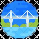 Bridge Puente Pumarejo Footbridge Icon