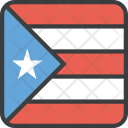 Puerto Rico Country Icon