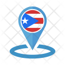 Puerto Ricol Flag Icon