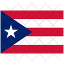 Flag Country Puerto Rico Icon