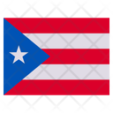 Puerto Rico Country National Icon