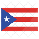Puerto Rico International Nation Icon