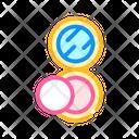 Puff Powder Color Icon