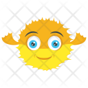 Puffer Globe Fish Puffers Icon