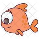 Fish Aquatic Animal Specie Icon
