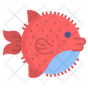 Puffer Fish Fish Seafood Icon