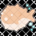 Puffer Fish Animal Ocean Icon