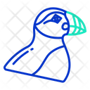 Puffin Emperor Bird Icon