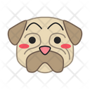 Pug Dog Hushed Icon