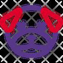 Pug Death Eyes Icon