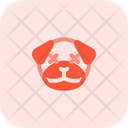 Pug Death Eyes Icon