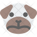 Pug Frowning Icon