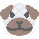 Pug Pouting Icon