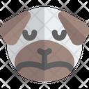 Pug Sad Animal Wildlife Icon