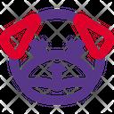 Pug Sad Death Icon