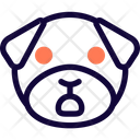 Pug Shock Icon