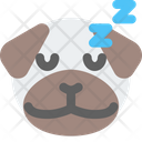 Pug Sleeping Icon