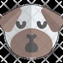 Pug Sleepy Animal Wildlife Icon