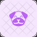 Pug Smiling Icon