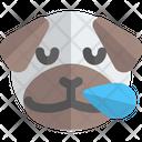 Pug Snoring Animal Wildlife Icon