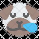 Pug Snoring Icon