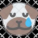 Pug Tear Icon