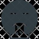 Puke Emoji Face Icon