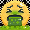 Puke Emoji Emotion Icon