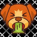 Puke Emoji Emoticon Icon
