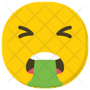Nauseated Emoji Vomit Emoji Emoticon Icon