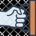 Pull Push Unlock Icon
