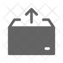 Pull Out Package Box Icon