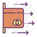 Pull Out Card Icon