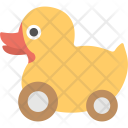 Pull Toy Duck Icon