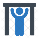 Pullup Gym Exercise Icon