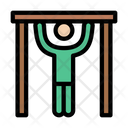 Pullup Exercise Gym Icon