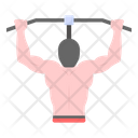 Pull Up Bar Pull Up Workout Pull Up Exercise Icon