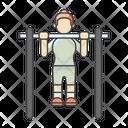 Exercises Pull Ups Back Exercise Icon
