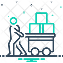 Pulled Burden Load Icon