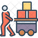 Pulled Cargo Icon