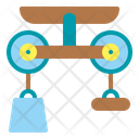 Pulley Physics Science Icon