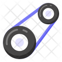 Car Pulley Pulley Car Equipment Icon