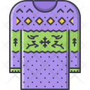 Pullover Clothes Christmas Icon