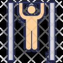 Exercise Fitness Gymnast Icon