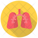 Breath Lungs Pulmonology Icon