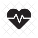 Pulse Heart Beat Heart Rate Icon