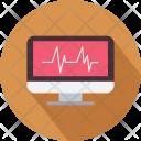 Pulse Heartbeat Report Icon