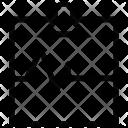 Pulse Heartbeat Clipboard Icon